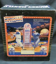 Mickey Mantle, NY Yankees, Switch Hitter Hand-Signed Sports Impression Figurine