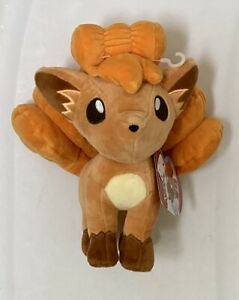 "BNWT Pokemon Vulpix Small Exclusive 8"" Plush Toy"