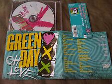 GREEN DAY / oh love / JAPAN LTD CD OBI