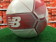 White / Red New Balance Furon Dispatch Size 4 Soccer Ball New