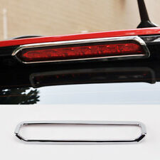 For Chevy Trax Tracker Chrome Rear Spoiler Brake Light Cover Trim Frame Garnish