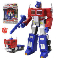 "7"" Transformers G1 Optimus Prime Figure Action Toy Combat Commander 3 Weapons"