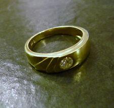 Markenlose Echtschmuck-Ringe mit Brillantschliff 58 (18,4 mm Ø)