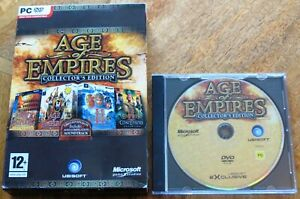 AGE OF EMPIRES COLLECTORS EDITION (PC DVD-ROM) inc. Soundtrack