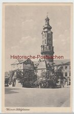 (109295) AK Weimar, Schlossturm, vor 1945