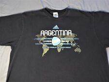 Adidas Argentina World Cup 2010 Men's Retro Graphic T-Shirt Size XL (Pre-Owned)