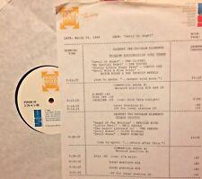 RADIO SHOW: 3/30/88 DEVIL/ANGEL! MITCH RYDER, CURTIS LEE, ROY ORBISON, CRESTS