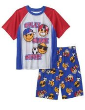 Faded Glory Youth Boys Emoji Short Set Size  XL 14-16