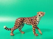 Northern Rose Cheetah Porcelain Figurine