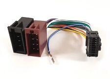 Pioneer 16 Pin ISO Head Unit Wiring Harness Connector Adaptor Stereo Radio