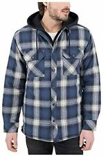 Boston Traders Men's Hooded Flannel Jacket