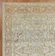 New Polonise 5'7''x7'10'' Handmade Oxidize Vintage Finish Wool & Silk Area Rugs