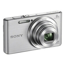 SONY 20.1MP Cybershot W830 Series Digital Still Camera Silver (DSCW830S)