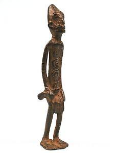 Art Africain Arts Premiers Arts Tribaux - Figurine en Bronze Dogon - 14 Cms ++++