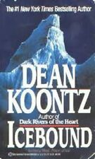 Icebound - Dean Koontz Paperback GC A compelling thriller of wintery chills