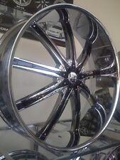 "30"" Inch CHROME Dcenti DW29 Wheels Rims 20 22 24 26 28"