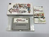 Chrono Trigger Super Famicom SFC SNES Nintendo Japan Box Manual Free Shipping