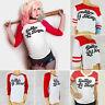 Womens Girls T-shirt Daddy's Lil Monster Inspired Tee Top Blouse Joker Costume