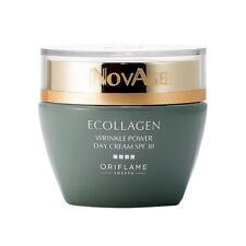 Oriflame NovAge Ecollagen Wrinkle POWER Day Cream SPF 30   NEW STRONGER