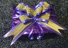 Pull Bow Present Gift Large Bow Christmas Gold New Design To Ebay Purple Hamper