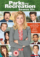 PARKS AND RECREATION - SEASON 6 - DVD - REGION 2 UK