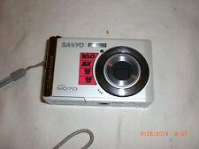 Sanyo VPC S1070 10.0MP Digital Camera - White