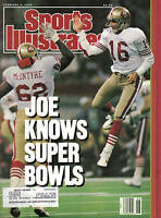 1990 (2/5), Sports Illustrated,football,magazine,Joe Montana,San Francisco 49ers