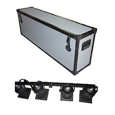 TUFFBOX ROAD CASE for 4 PAR CANS ON TRUSS ROD - LARGE