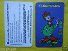 rare telefonkarten 1997 phone cards 10 units gladstone gastone paperone topolino