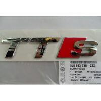 Car Badge Emblem Genuine OEM 'TTS' for Audi TT quattro Coupé Roadster RS TDI