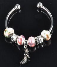 1pc beautiful charm bracelet fit porcelain beads S-A51