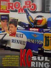 Auto & Sport ROMBO 40 1995 con maxi poster della Williams