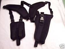 "LEFT Hand Shoulder Holster RUGER MARK III HUNTER w/ Red Dot Scope 6-7/8"" barrel"