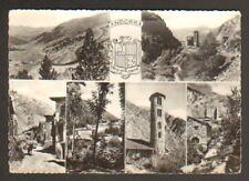 VALLS ANDORRA (ANDORRE) ANE ,VILLAS, CHAPELLE & BLASON