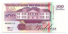 Suriname  100 gulden  1998   FDS  UNC  pick 139 b   lotto 3224