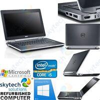 Fast Dell Latitude E6430 Core i5 3230 8GB 500GB Cheap Windows 10 Pro Laptop HDMI
