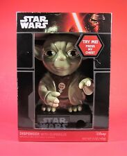 Star Wars Yoda Talking Gumball Dispenser Sound & Lights with Batteries MINT NEW