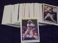 1991 OPC O-Pee-Chee Premier Baseball Complete Set #1-132