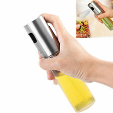 Stainless Olive Oil Sprayer Cooking Mister Spray Pump Fine Bottle Kitchen NEW