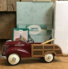 Vintage Hallmark Kiddie Car Classics 1939 Ford Station Wagon Surf Board Gift