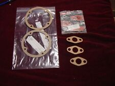 3 Oil Cooler Pipe Flange Gaskets 2 Breather Gaskets Jaguar XK120 XK140 XKE 3.8