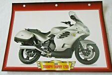 A Motor Bike Fact File ~ Triumph Trophy 1200