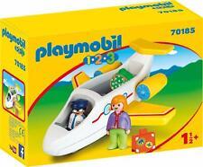 Playmobil 1.2.3 - 70185 Avión con Pasajero - Nuevo