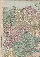 Gales North East c.1900 tocino geográfica establecimiento MFF2