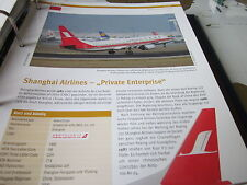 Airlines Archiv China Shanghai Airlines Private Enterprise 6S