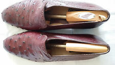 Mean's Burgundy color Loafers size 13 by Maury made in Italy pre-owned!