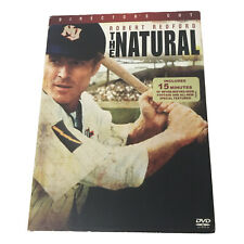 The Natural Director's Cut DVD Robert Redford NEW