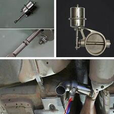 "Exhaust Control Valve with Vacuum Actuator for 2.5"" 63MM pipe Stainless steel"