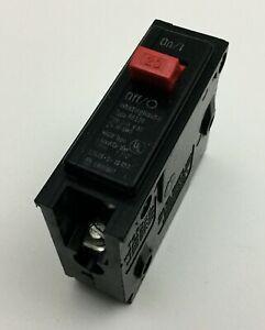Bryant Westinghouse BR120 1 POLE 20 AMP 120/240 VOLT Circuit Breaker Red Handle