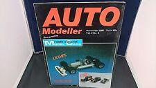 Auto Modeller  Magazine : Nov 1980 : Vol 2  No 8 + Radio Control Model Cars